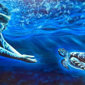 Turtle is symbol of the Mother Earth. Turtle reminds us that we never alone that earth is our mother that she loves us. Spkeaks Protected and provided every day